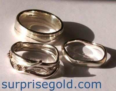 custom wedding rings for women in white gold or yellow gold unique wedding